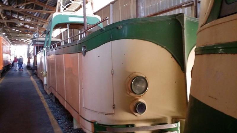 Boatlike Streetcar