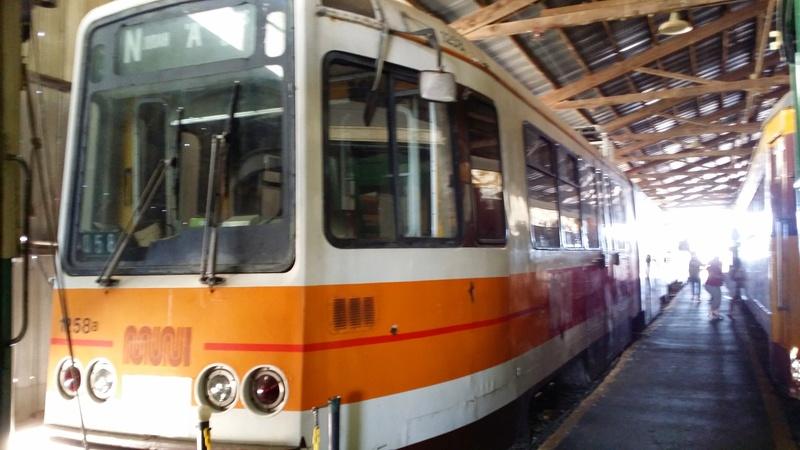 Wide Photo Of Boeing-Vertol Light Rail Train
