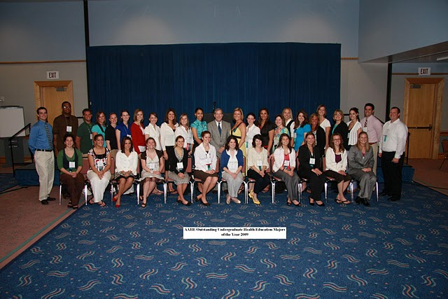 2009 AAHE Outstanding Majors Tampa, FL