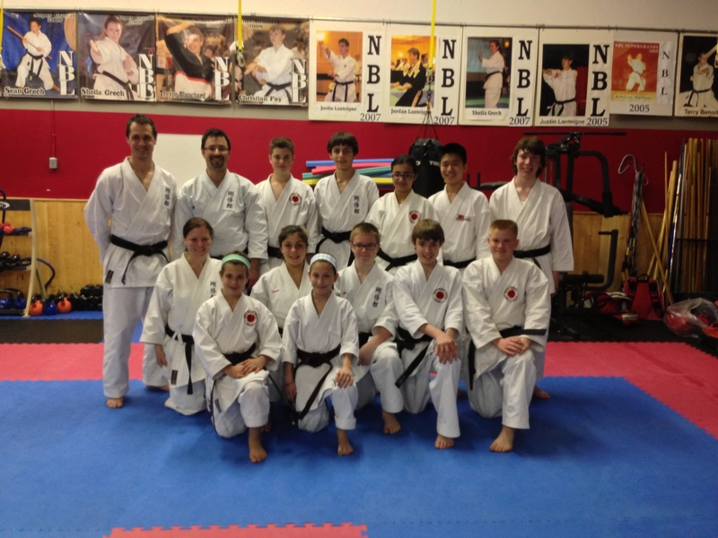 Senior Belt Testing May 2012