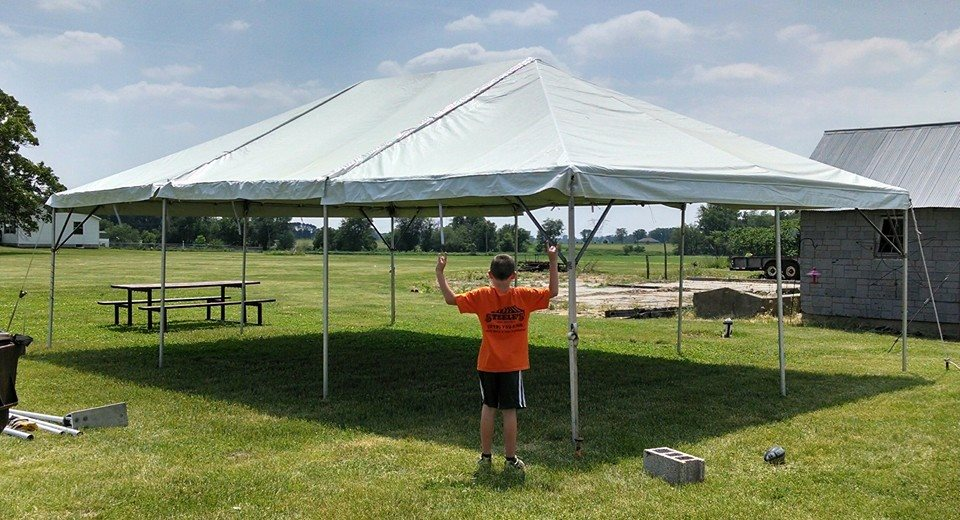 20x30 White - Formerly Steele\'s Tent Rentals