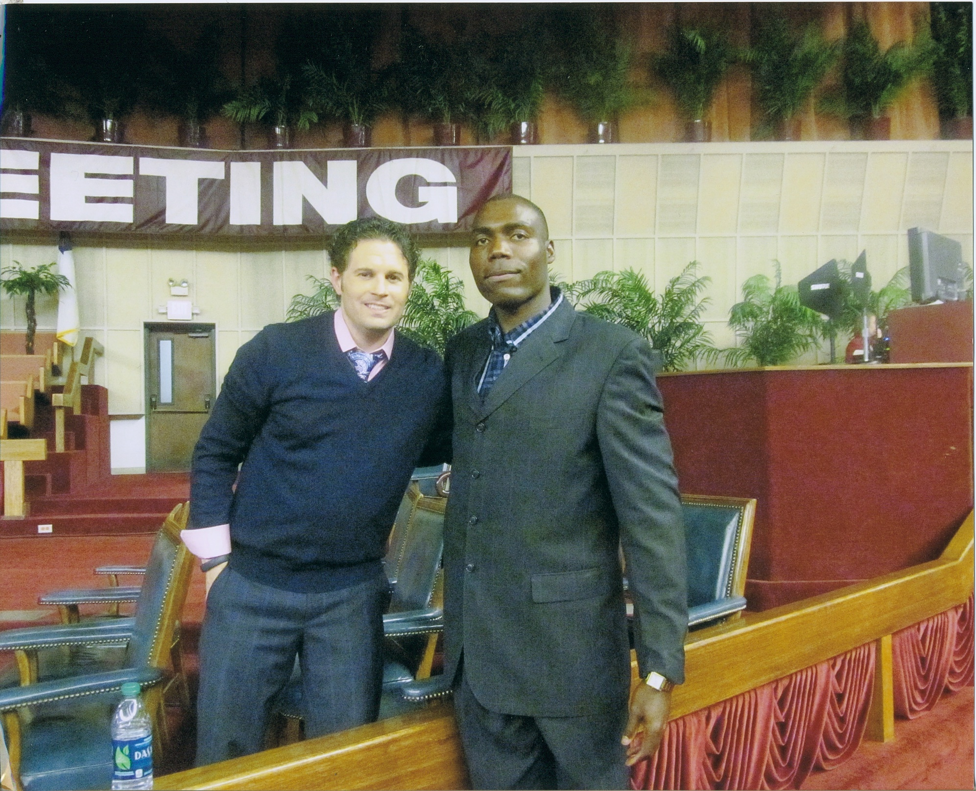 pastor Durstin with pastor Gabriel Swaggart