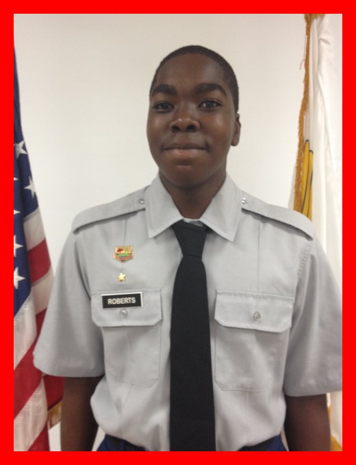 C/CPL Denzel Roberts (January 2014)