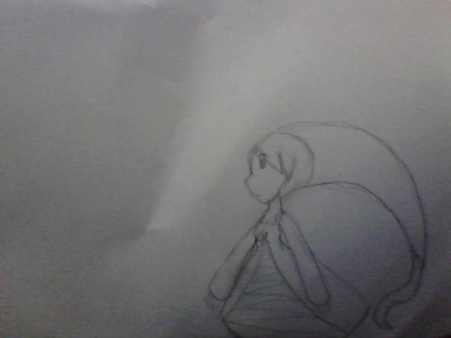 Violet drew Whisper