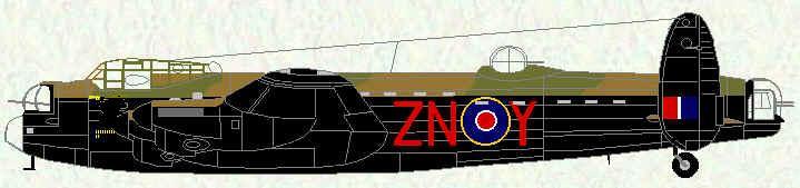 106 Squadron Avro Lancaster BI