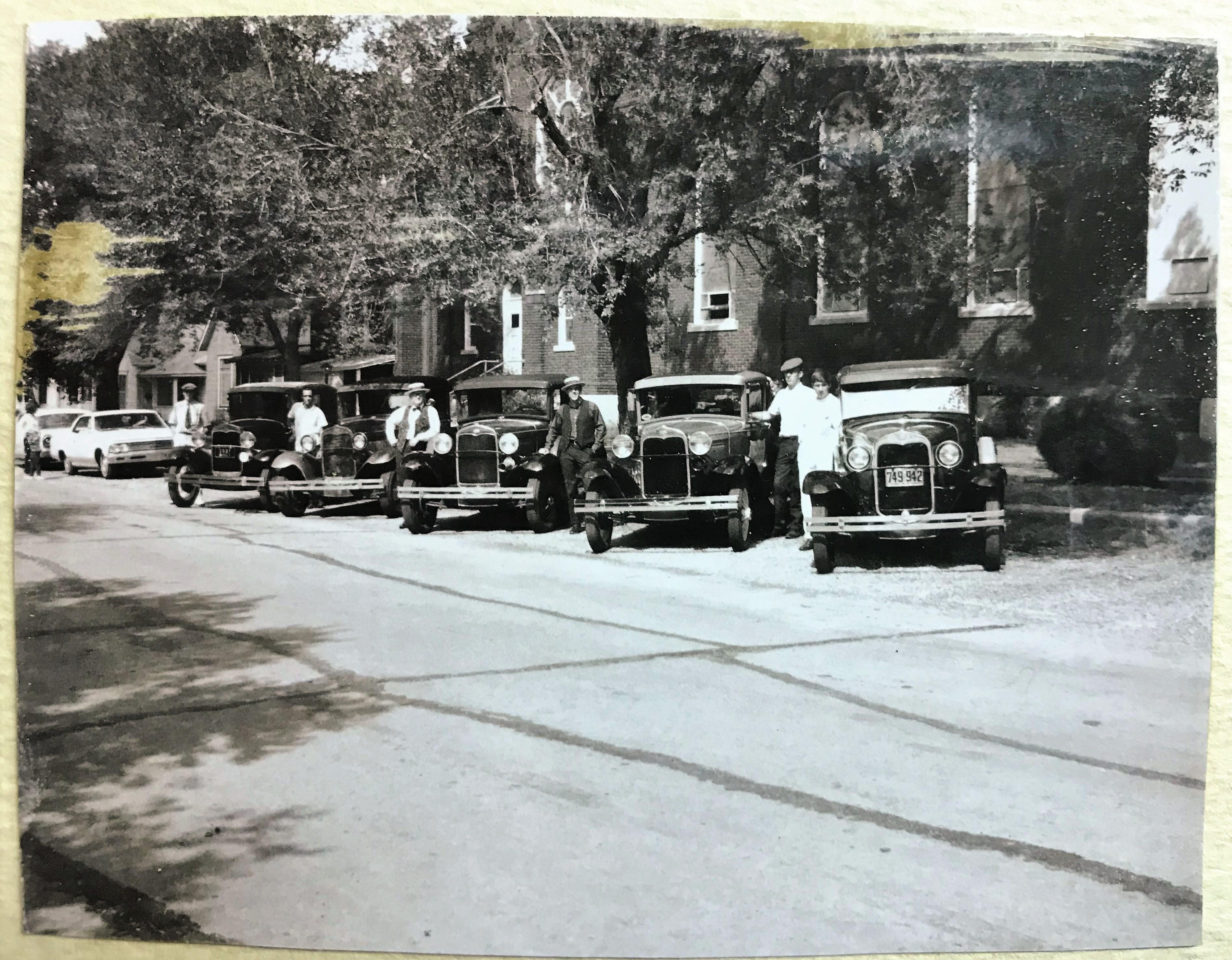 1962 Parade Lineup