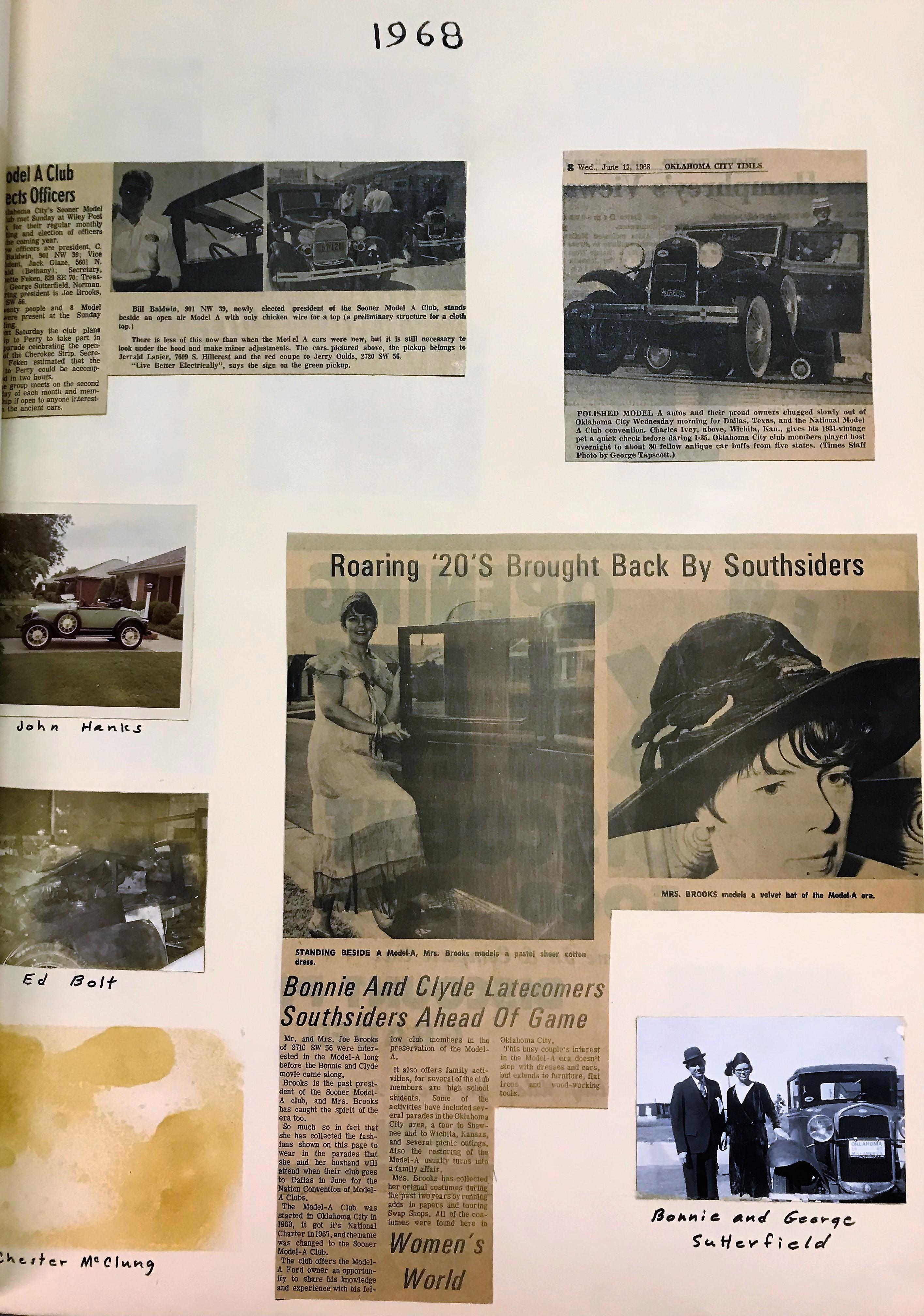 1968 Activities