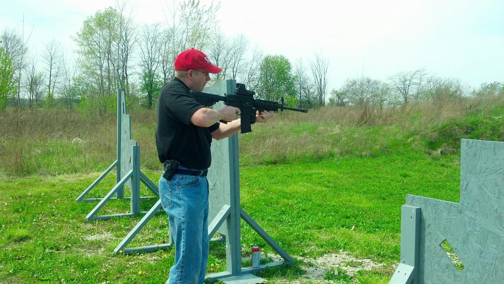 AR-15 Fun time!