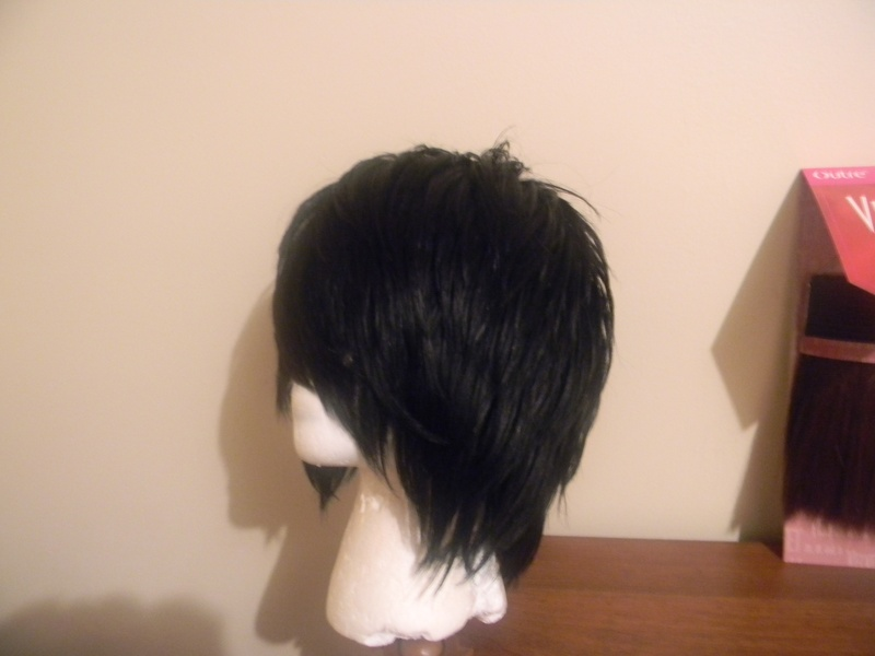 Before View of Duby Short Cut Wig.