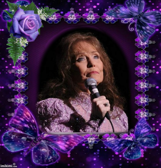 Loretta In Pretty Purple