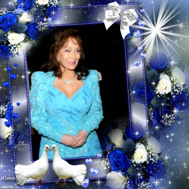 Loretta In Beautiful Blue