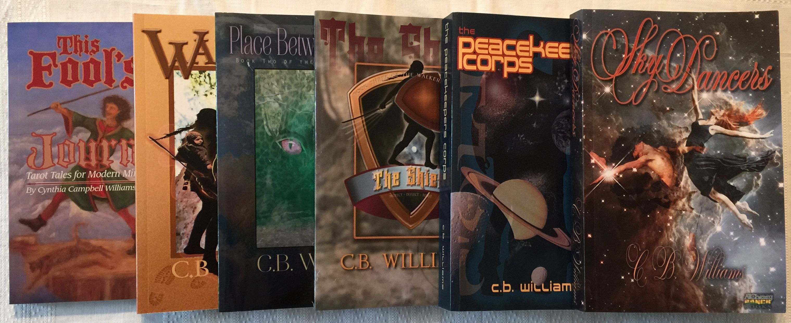 CB Williams' Book covers