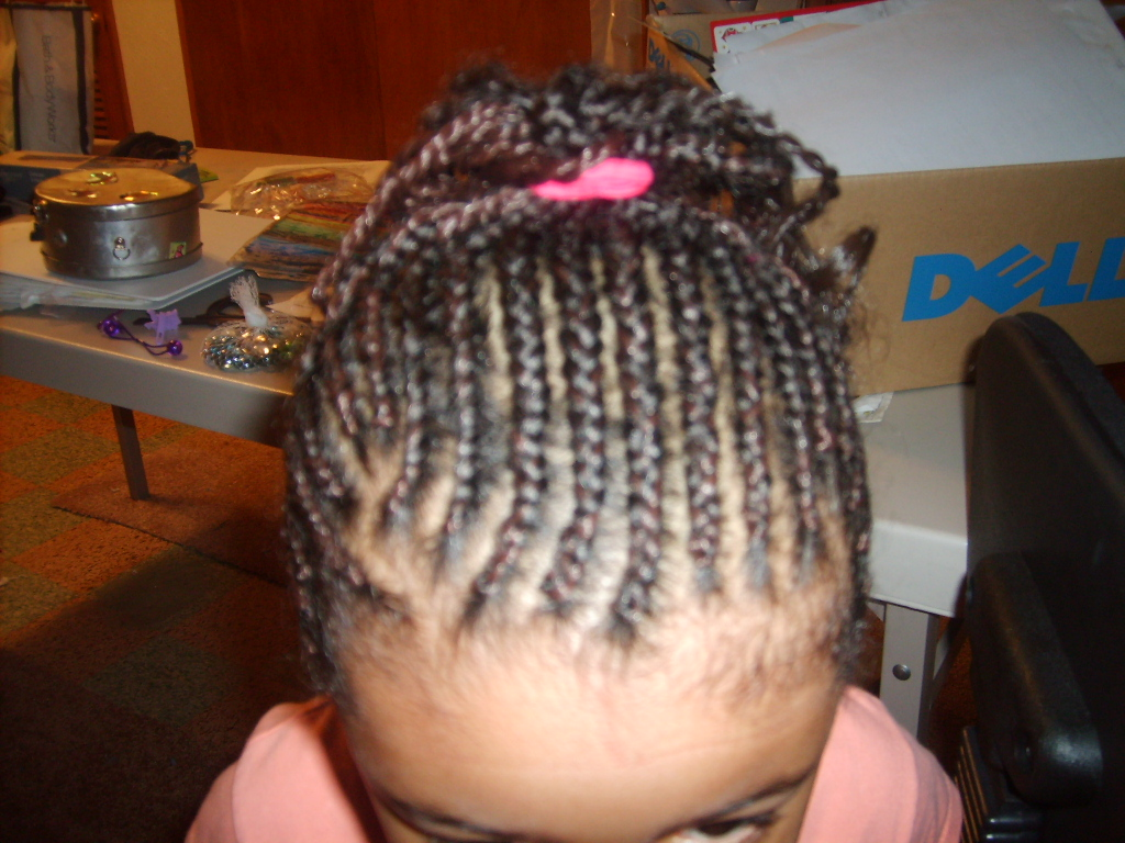 cornrow with extension