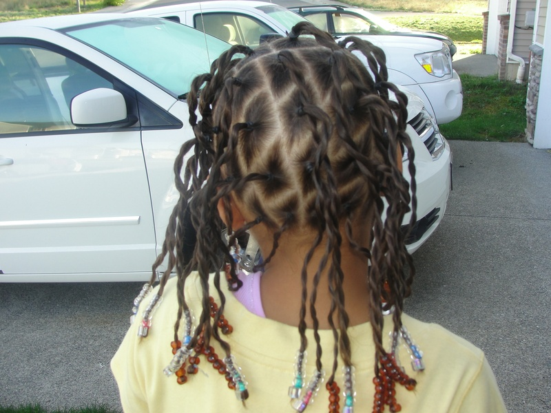 senagalese twists with beads