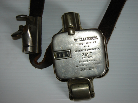 Williamson Ticket Punch no 3597