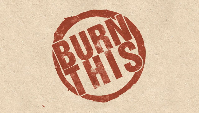 Burn This info