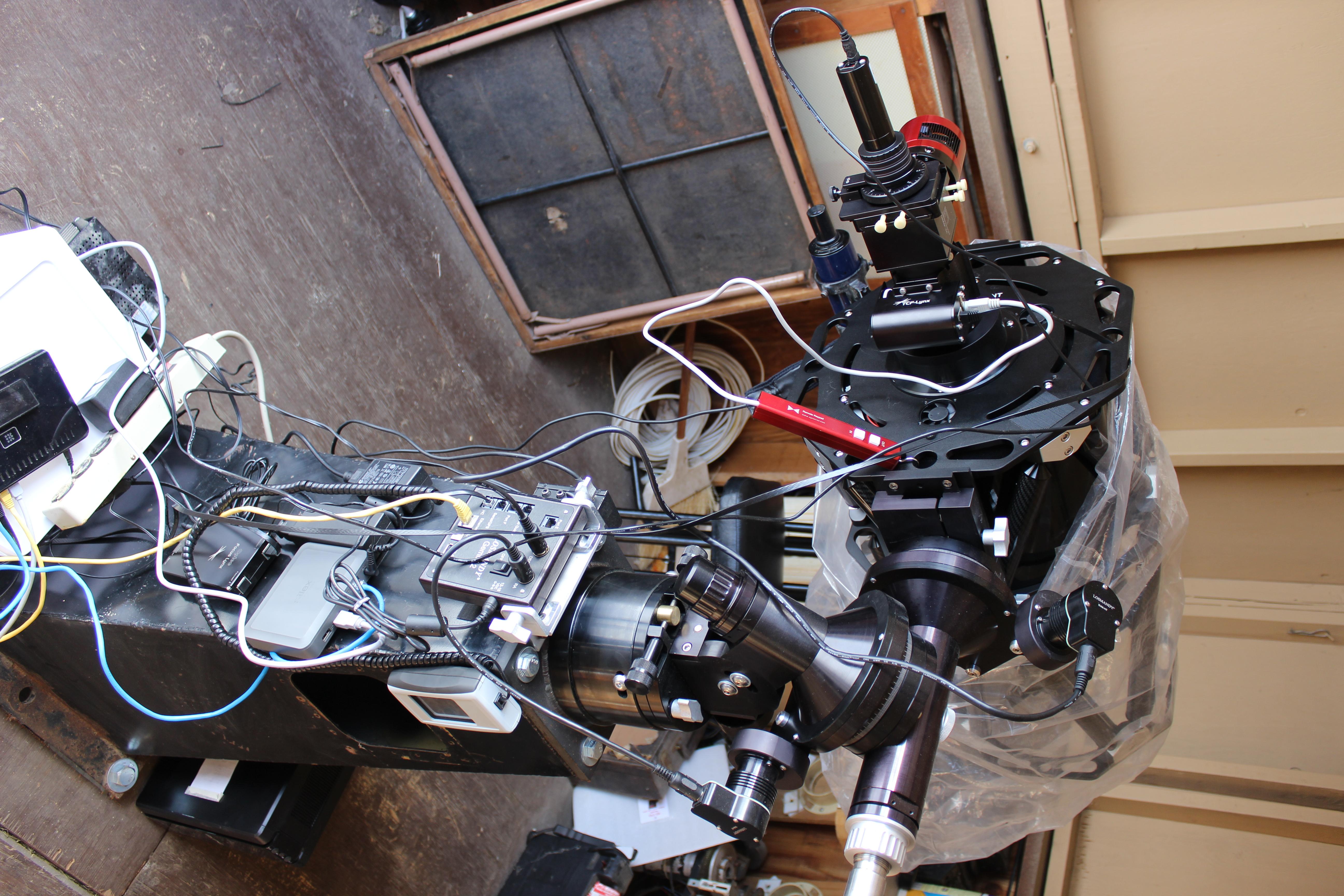 Full equipment setup