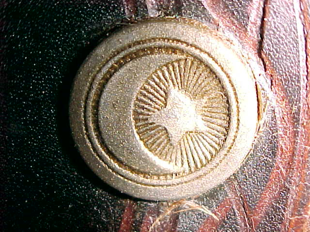 KGC Star and Crescent Emblem on Saddle