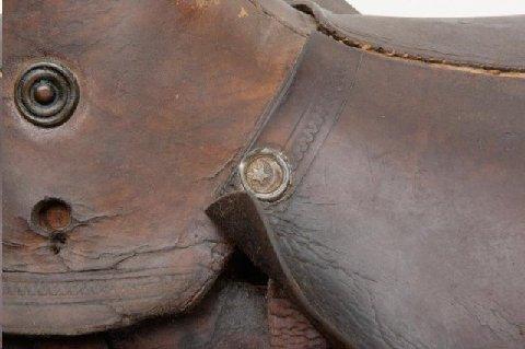 KGC Star and Crescent Emblem on Saddle - 2