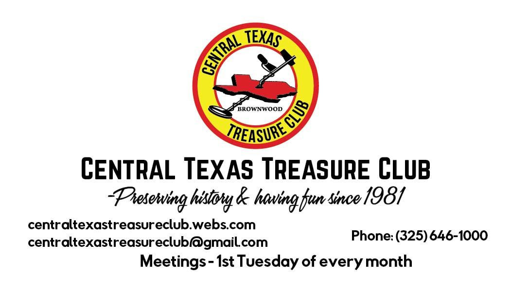 Central Texas Treasure Club Cards