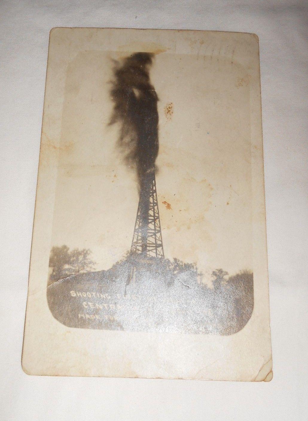 Jesse James signed postcard - 1909