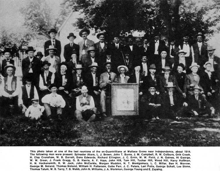 1914 Quantrill's Reunion
