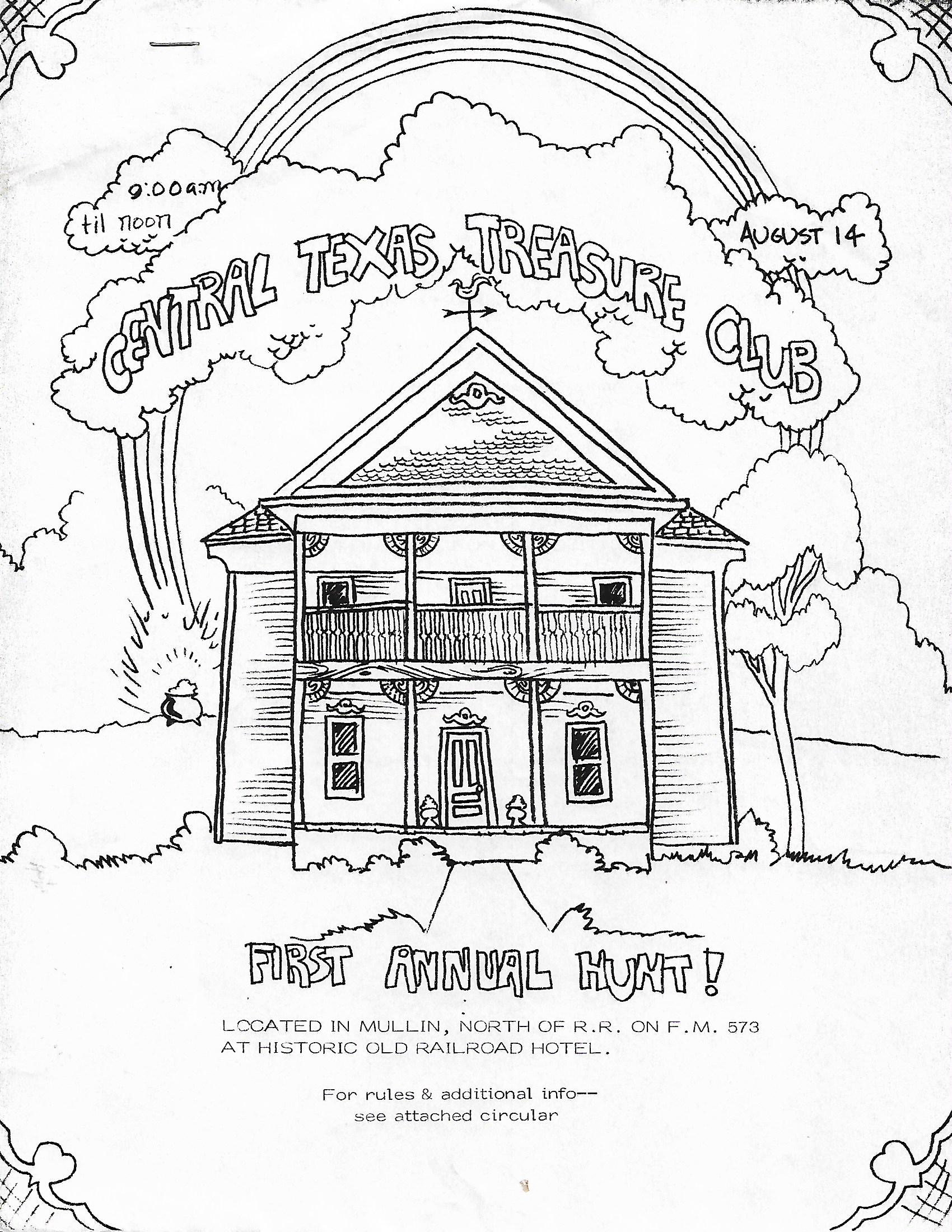 CTTC First Annual Hunt Flyer - 1982