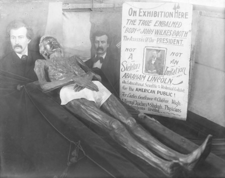 David E. George aka John Wilkes Booth Mummy