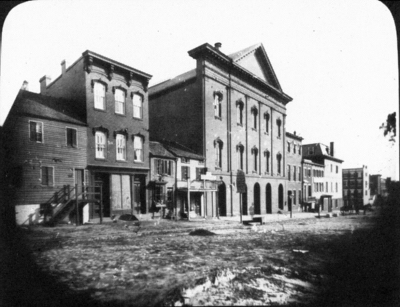 Ford's Theater during Lincoln's Time