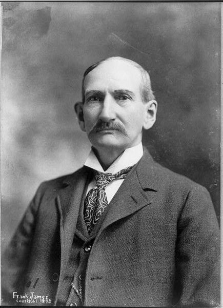 Frank James in 1898