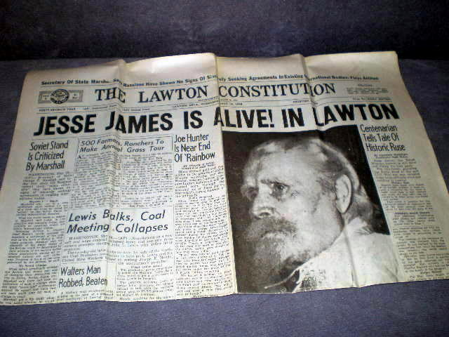 1948 Lawton Constitution Newspaper