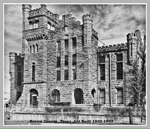 Old Photo of Old Brown County Jail