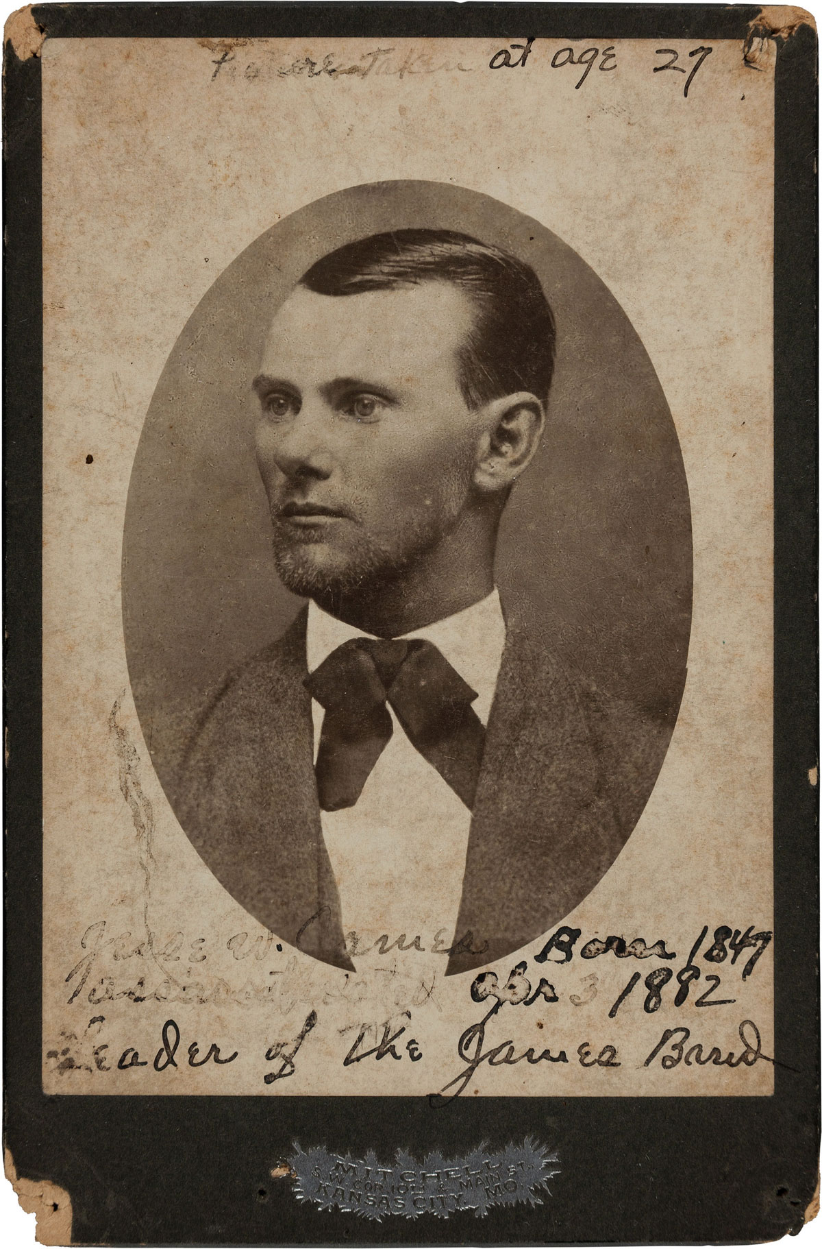 Jesse James at 27 years old