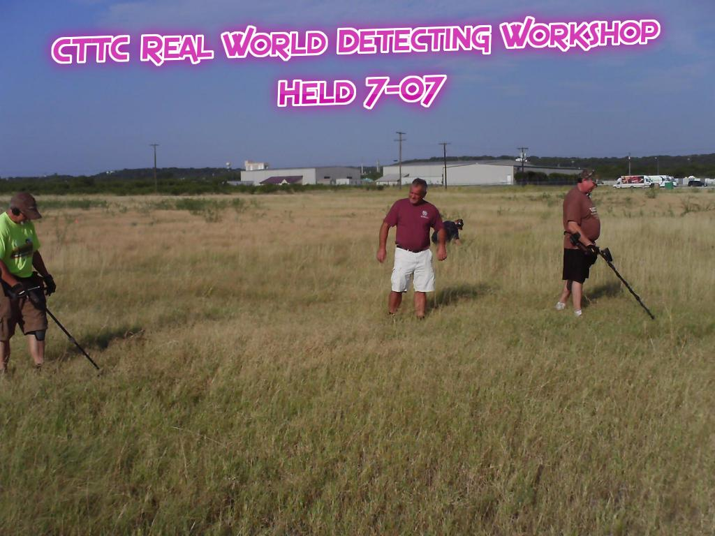 CTTC Real World Detecting Workshop