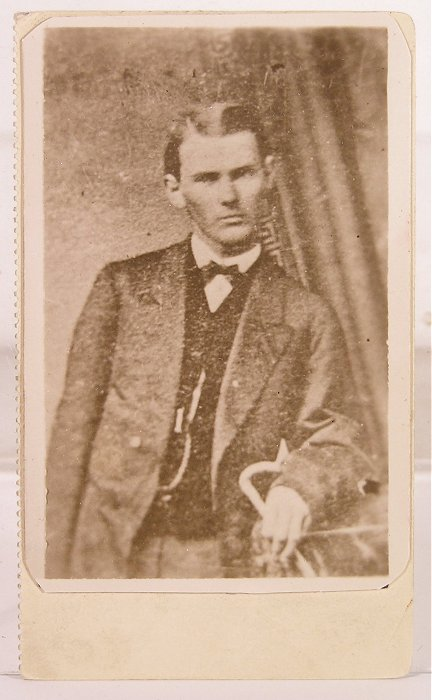 Pinkerton Detective Agency Photo of Jesse James