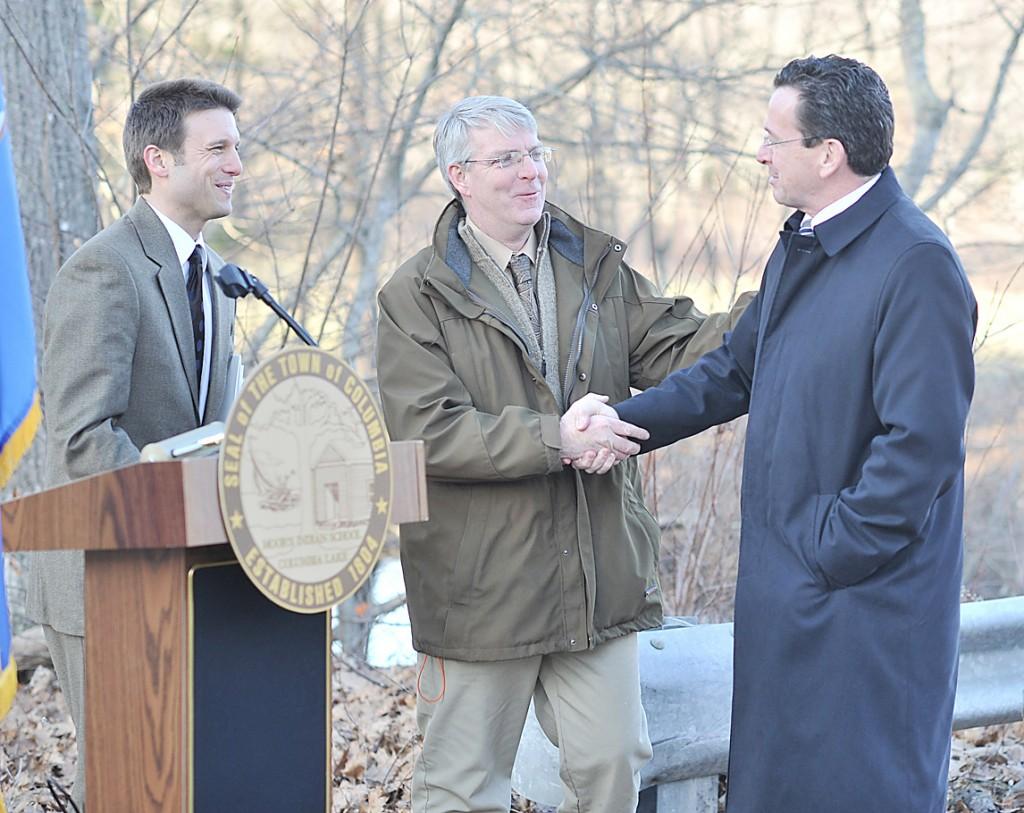 Ackert Hails Grant Funding for Columbia