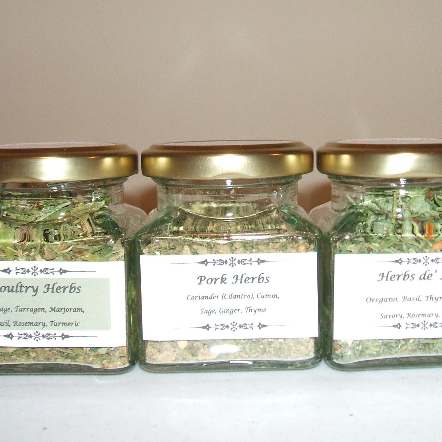 Organic Gourmet Spice Blends