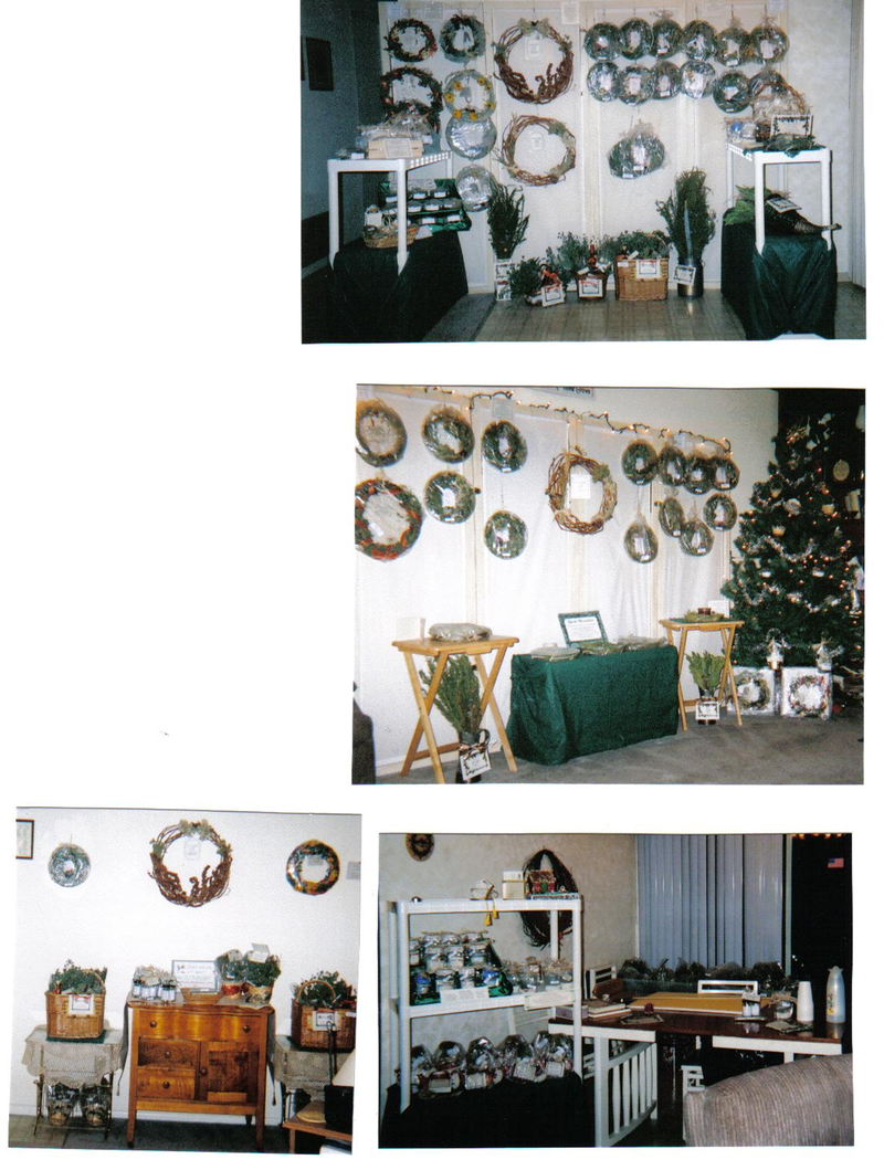 Displays from Wreath Crafting