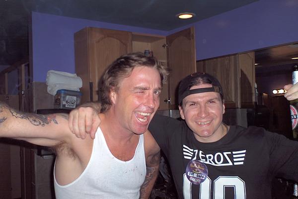 Thrand and Dave Brockie at Viva La Bands AKA Oderus