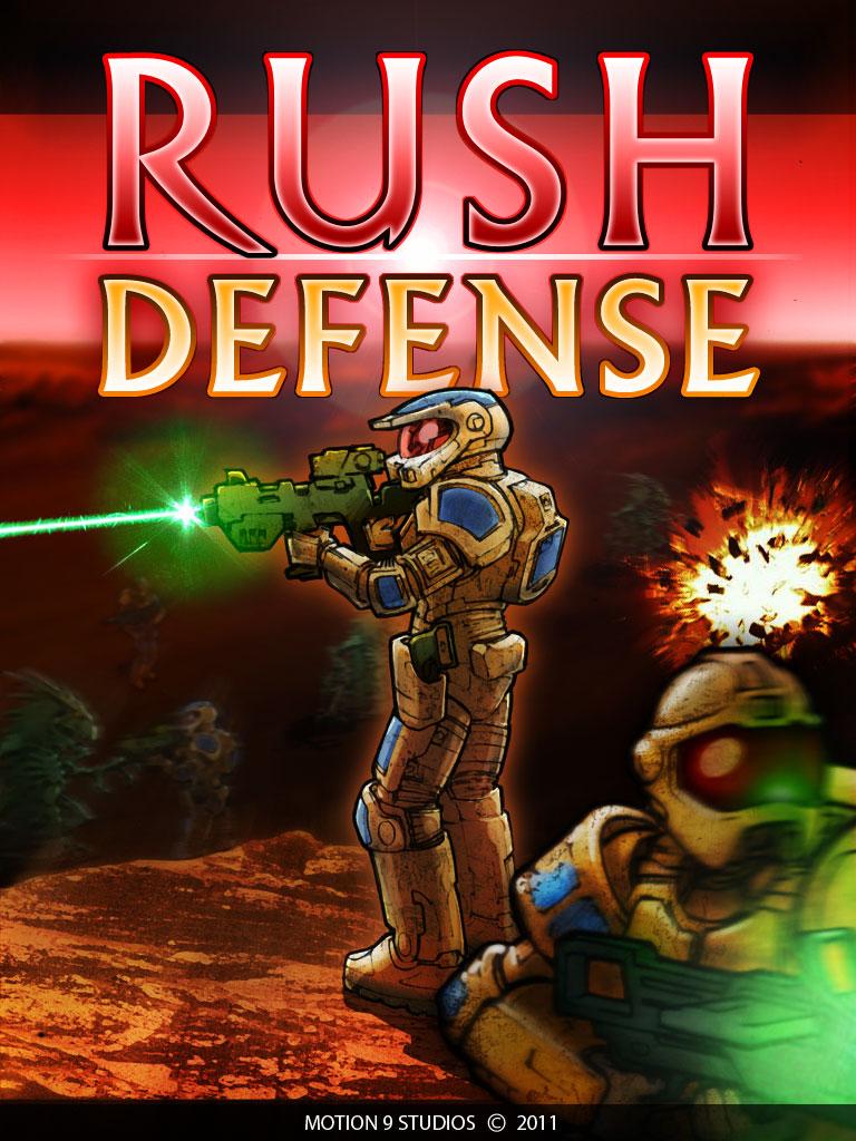Rush Defense Splash