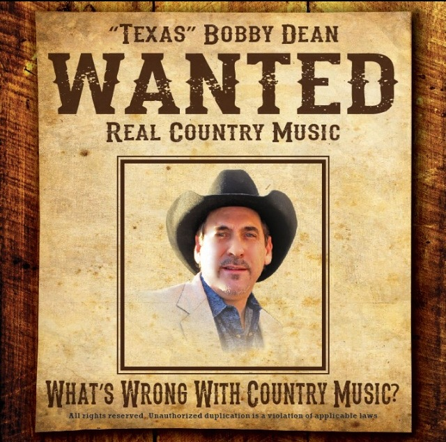 "Bobby Dean CD:  ""WANTED"""