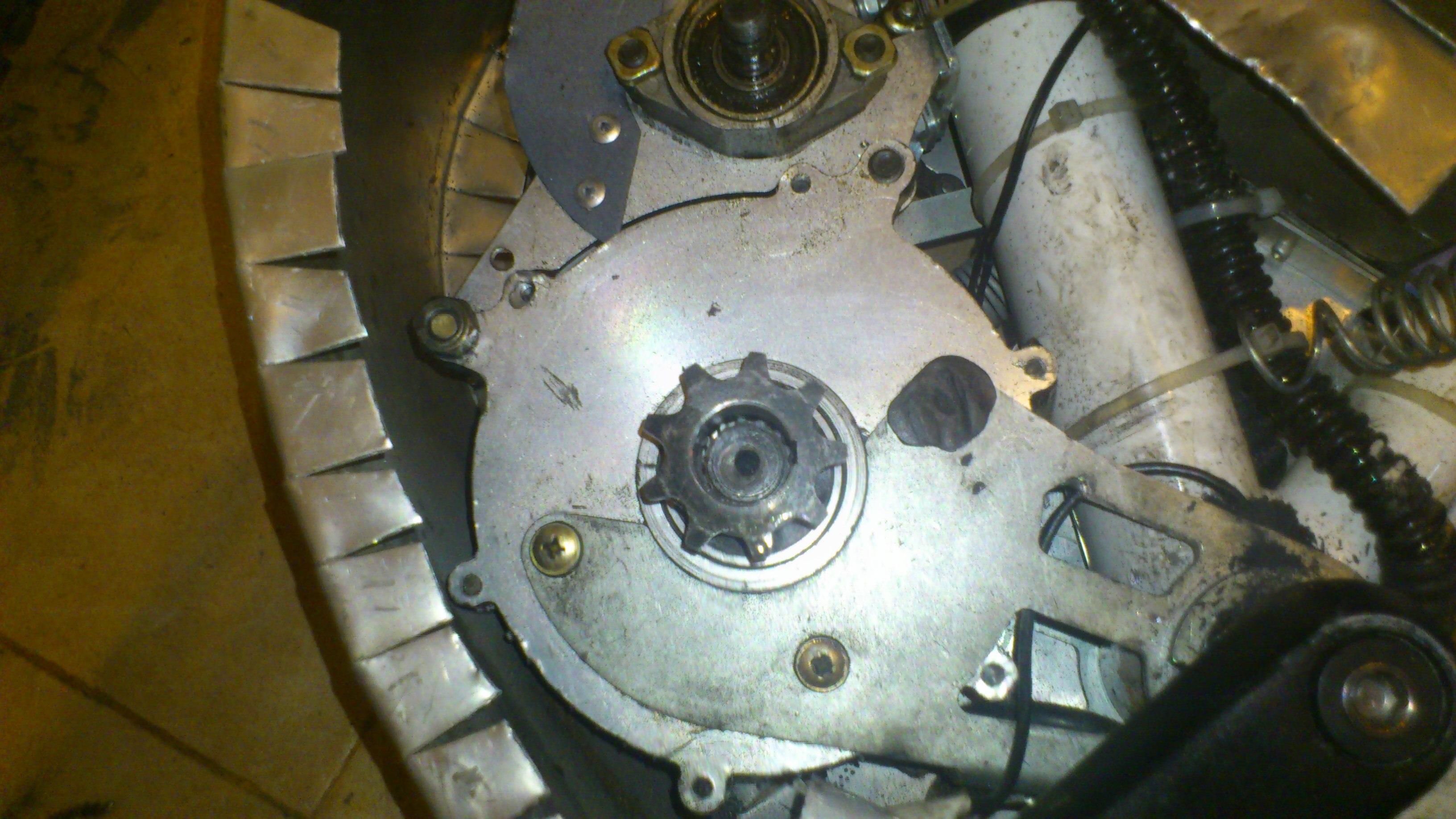 motor shaft after matching