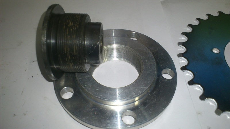 chain ring adapter with the original center nut