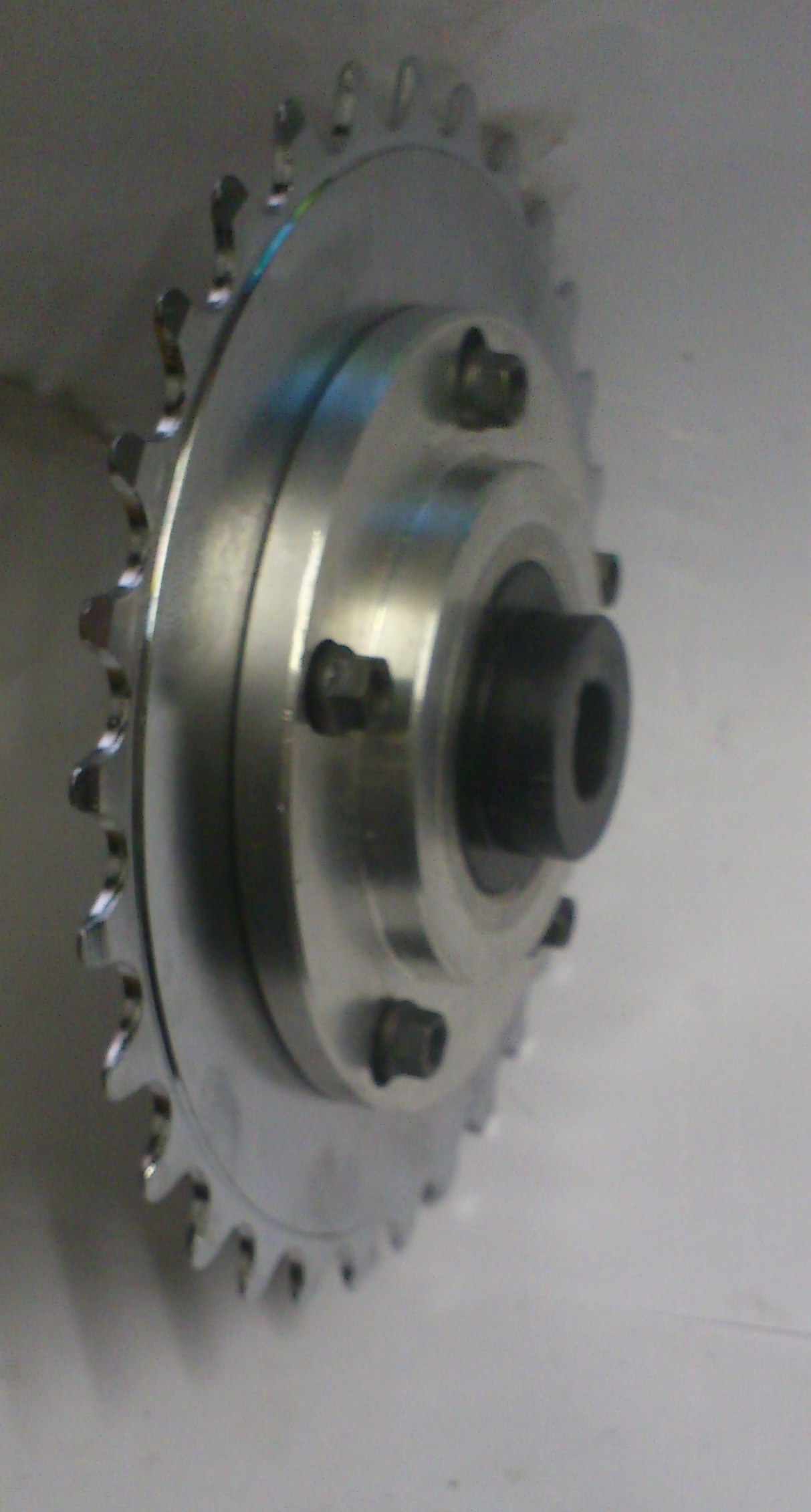 completed chain  pulley