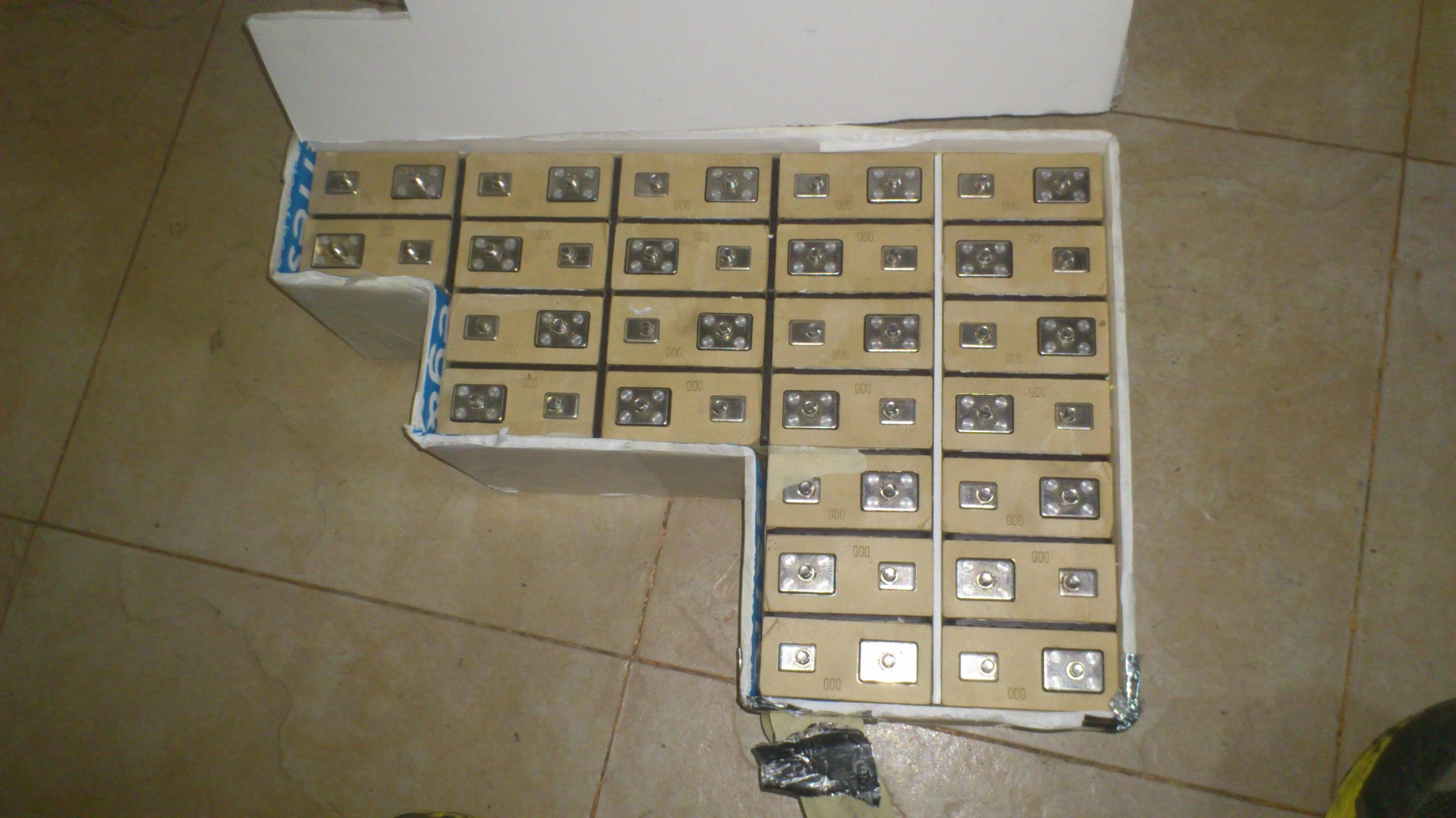 72V 12Ah LifePo4 Battery