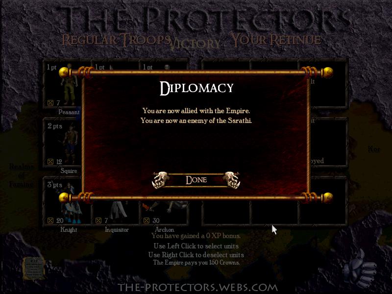 Diplomatic reconsideration