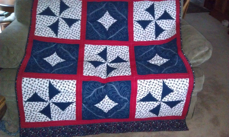 Valor Quilt-5 Minute and 10 minute blocks