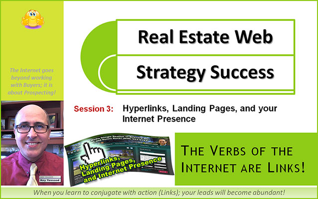Hyperlinks, Landing Pages, and your Real Estate Internet Presence