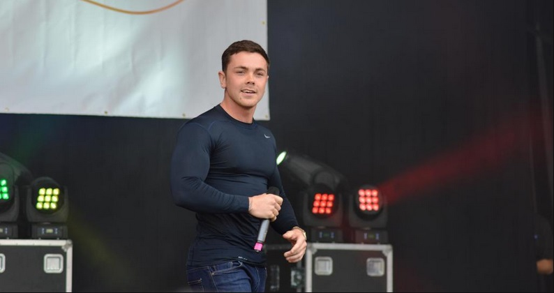 Leeds Pride (02/08/15) - Ray Quinn Headlining Parade Stage