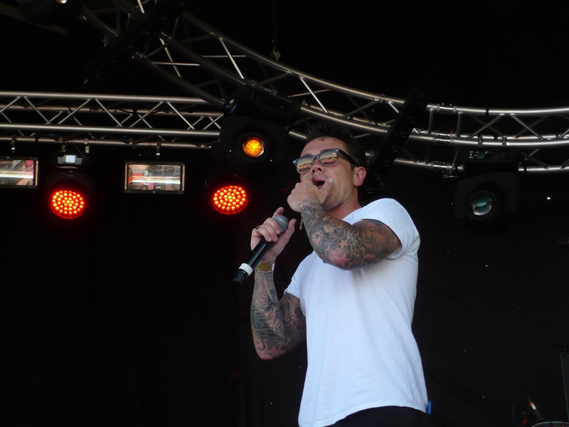 Ray Quinn Performing at The Marvellous Festival(23/07/16)